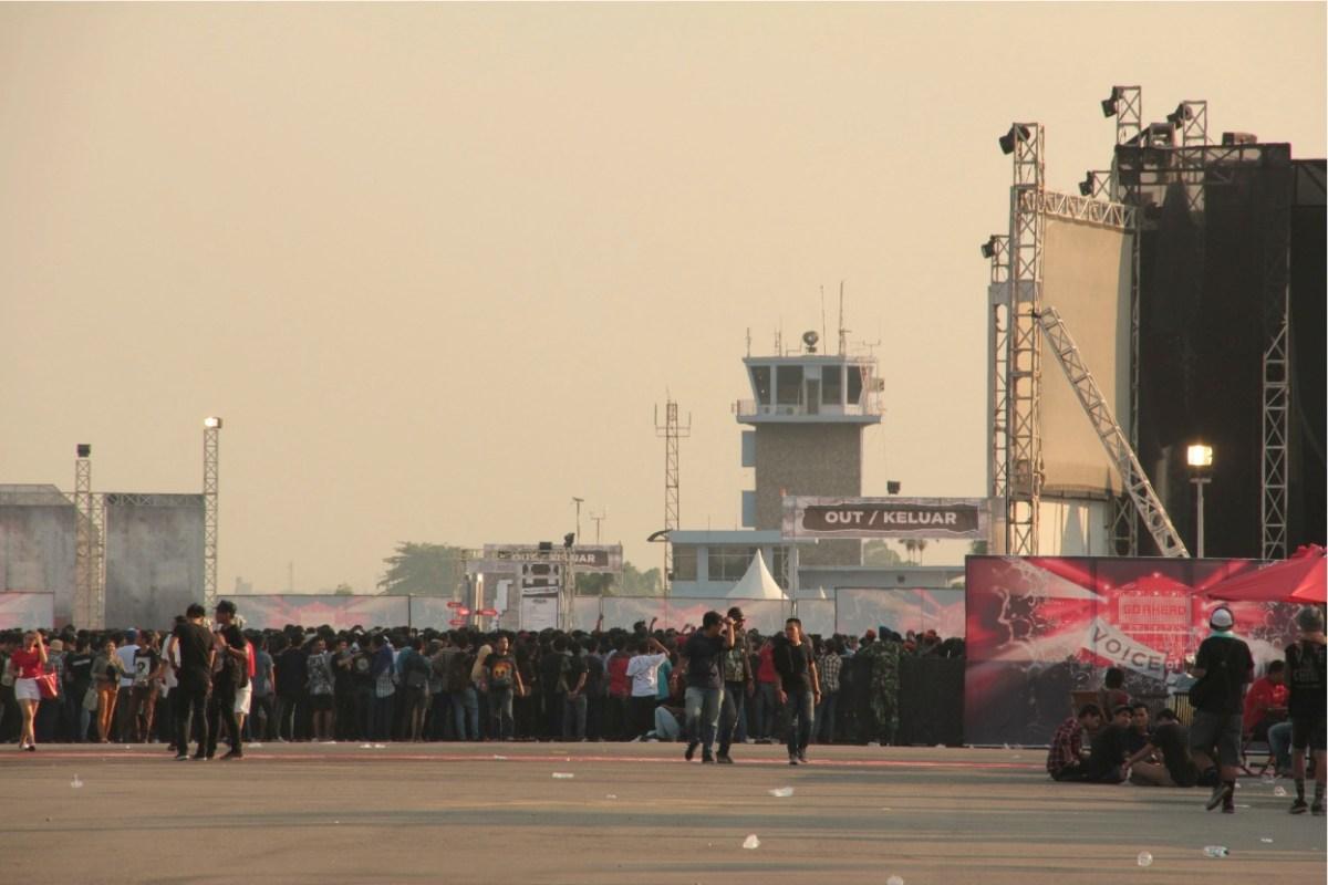 Soundrenaline ex Bandara Polonia Medan: Air Show-nya Musik Indonesia