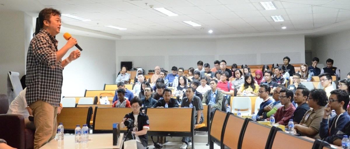 Ngobrol Kampanye Kreatif di Universitas Ciputra Surabaya