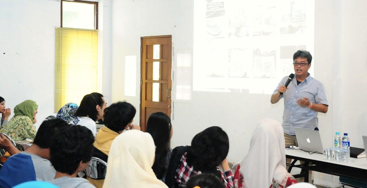 Creative Sharing Tentang Sketching di IKJ