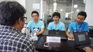 Dialog ide bersama tim aplikasi RILIV
