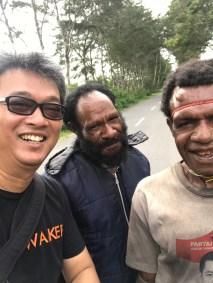 Bersama petani kopi di Desa Kurulu Wamena