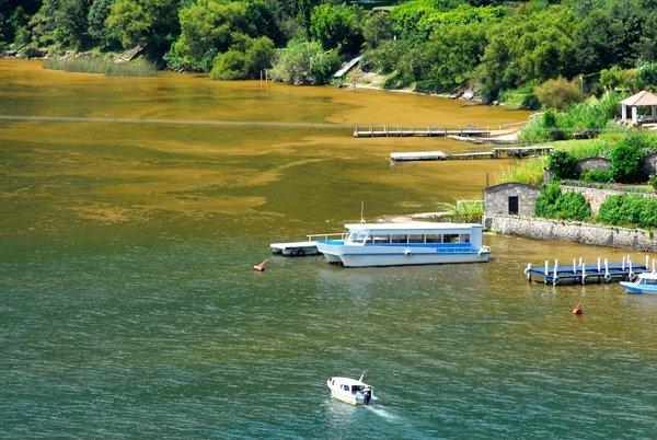 Lago Atitlan muriendo