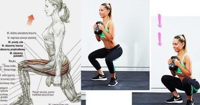 Jak schudnąć z tylnej części ud