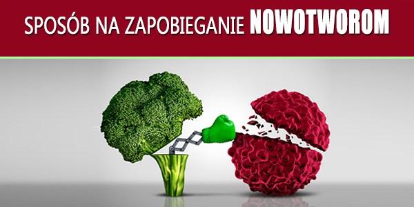 Alkalizująca żywność sposobem na zapobieganie nowotworom.