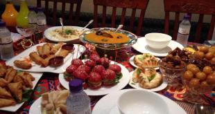 افطار من كل مائدة عربية
