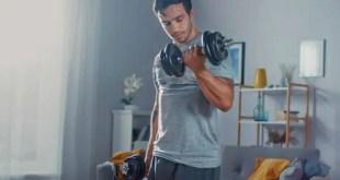 بناء عضلات قوية و بارزة في المنزل ... كل شيء موجود في هذه المقالة
