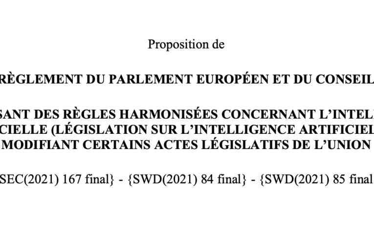 Avis du EDPB sur le projet de règlement IA