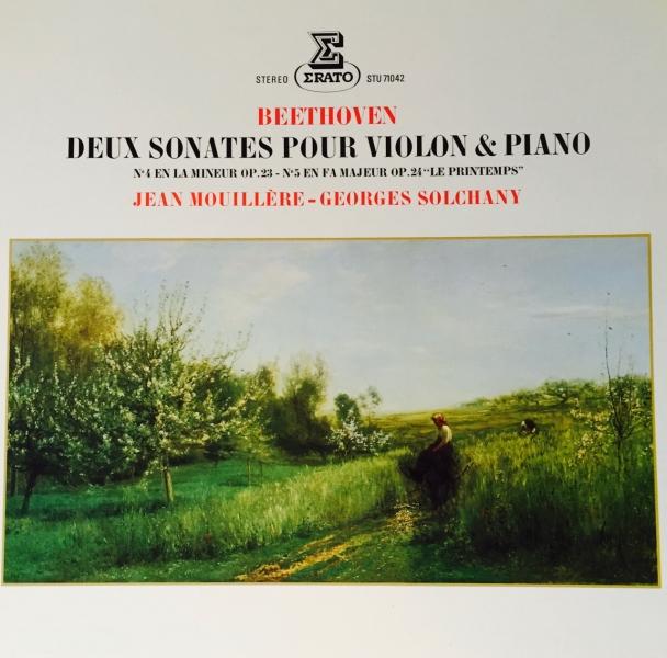 1977 BEETHOVEN Deux sonates pour violon et piano