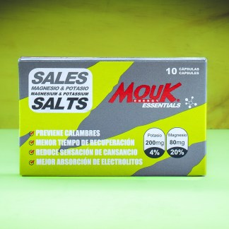 Sales MouK ESSENTIALS 10u. Magnesio y Potasio.