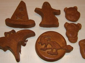 Photo sujets décors pain d'épices