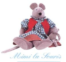Mimi the mouse - Moulin Roty