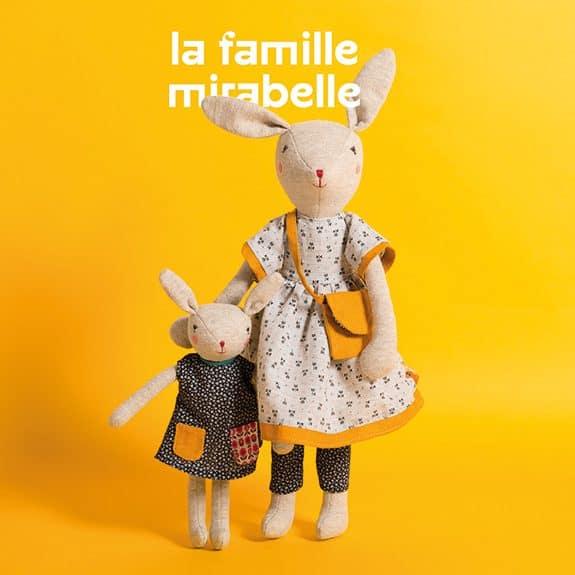 la famille mirabelle - Moulin Roty Australia - Memoire d'enfant