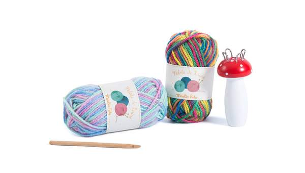 french knitting for craft