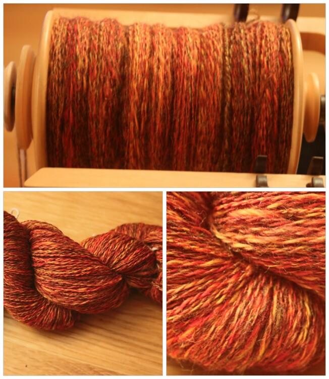 Moulin Yarns handspun yarn