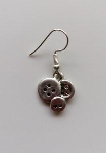 buttons earrings