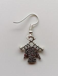 knitting sweater earrings