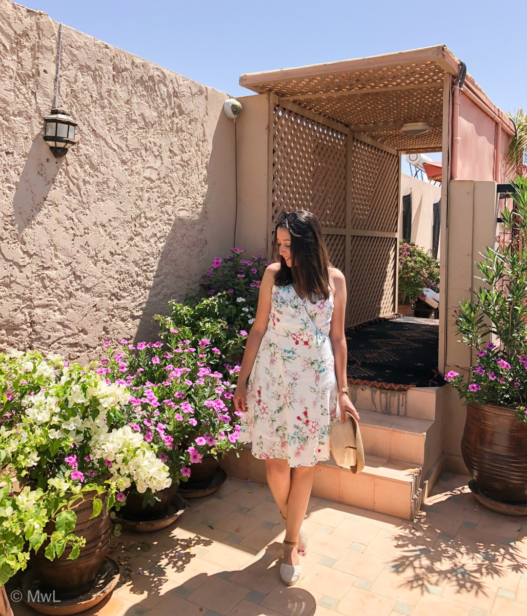 FLOWER POWER LOOK à MARRAKECH ★ Pourquoi on aime l'imprimé fleuri ?