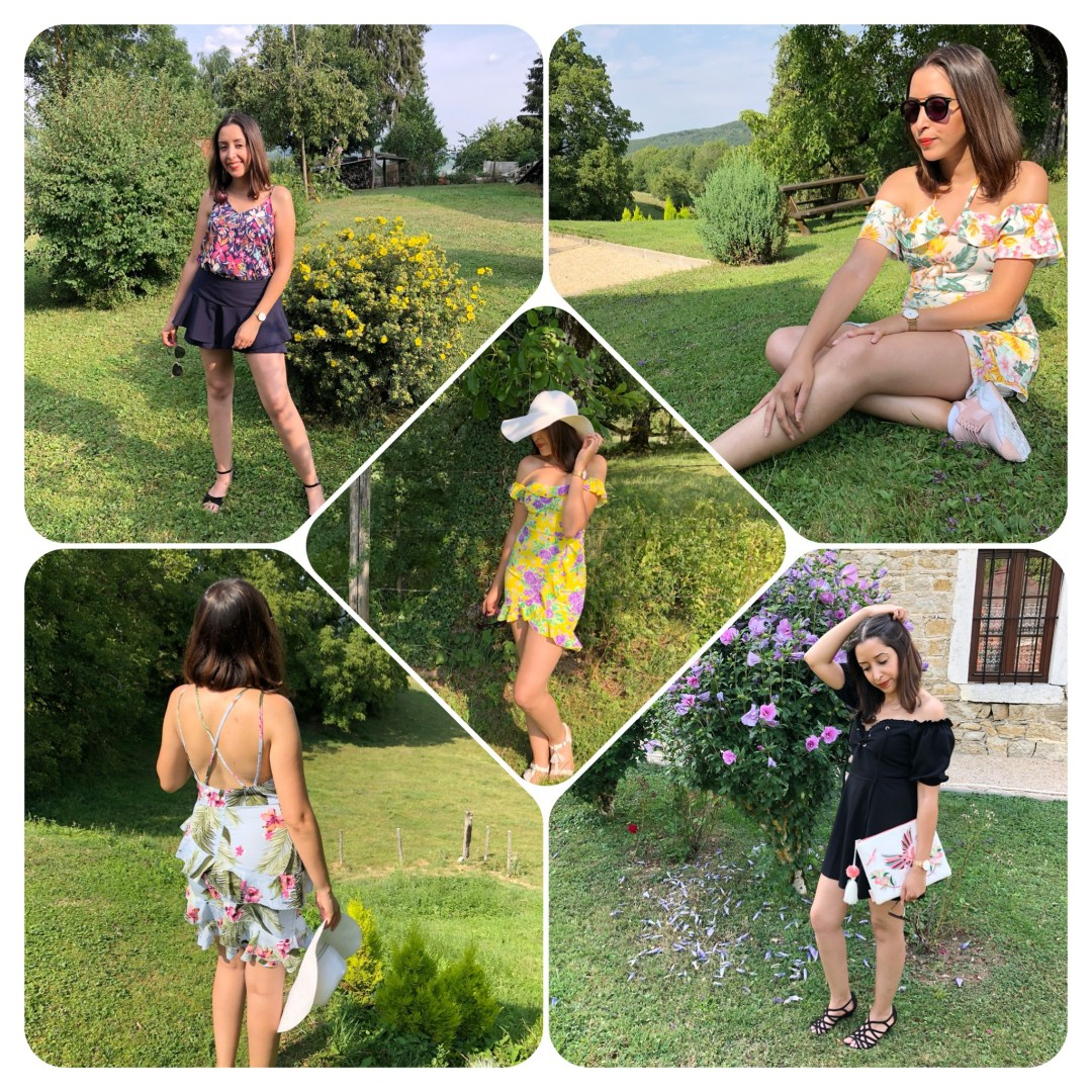 COMMENT PORTER L'IMPRIMÉ TROPICAL FLORAL ? ★ 5 LOOKS