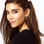 ASOS Rose Hair Brooch & Earring Pack €6,33
