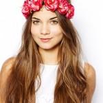 New Look Hawaiian Rose Hair Garland €8,42