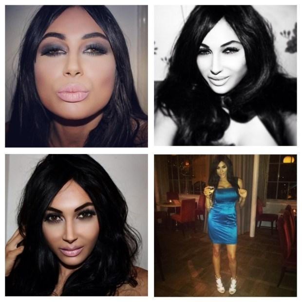Kardashian lookalike geeft veel geld uit
