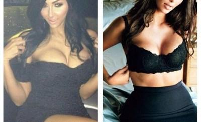 Kardashian lookalike