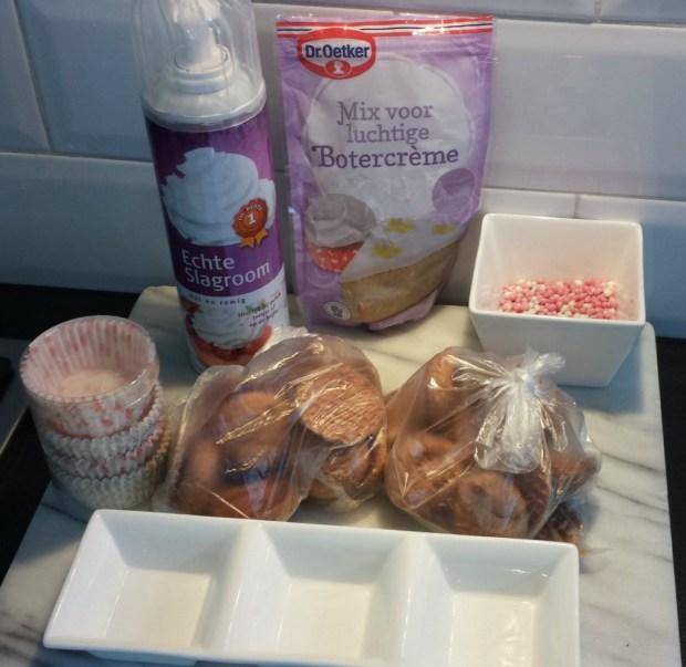 zelf kraam gebak maken