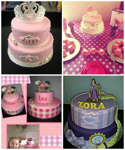 taart inspiratie meisje
