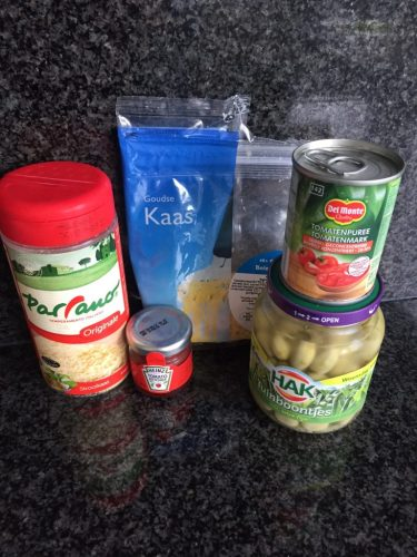 courgetti ingredienten