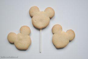 micky en minnie koekjes maken