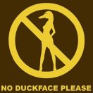 geen duckface
