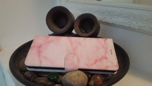 Samsung Note 8 roze marmer hoesje