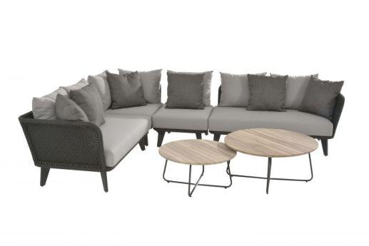 loungeset taupe grijs