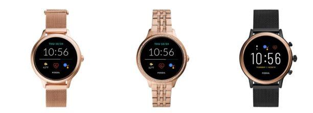 fossil horloge nieuw