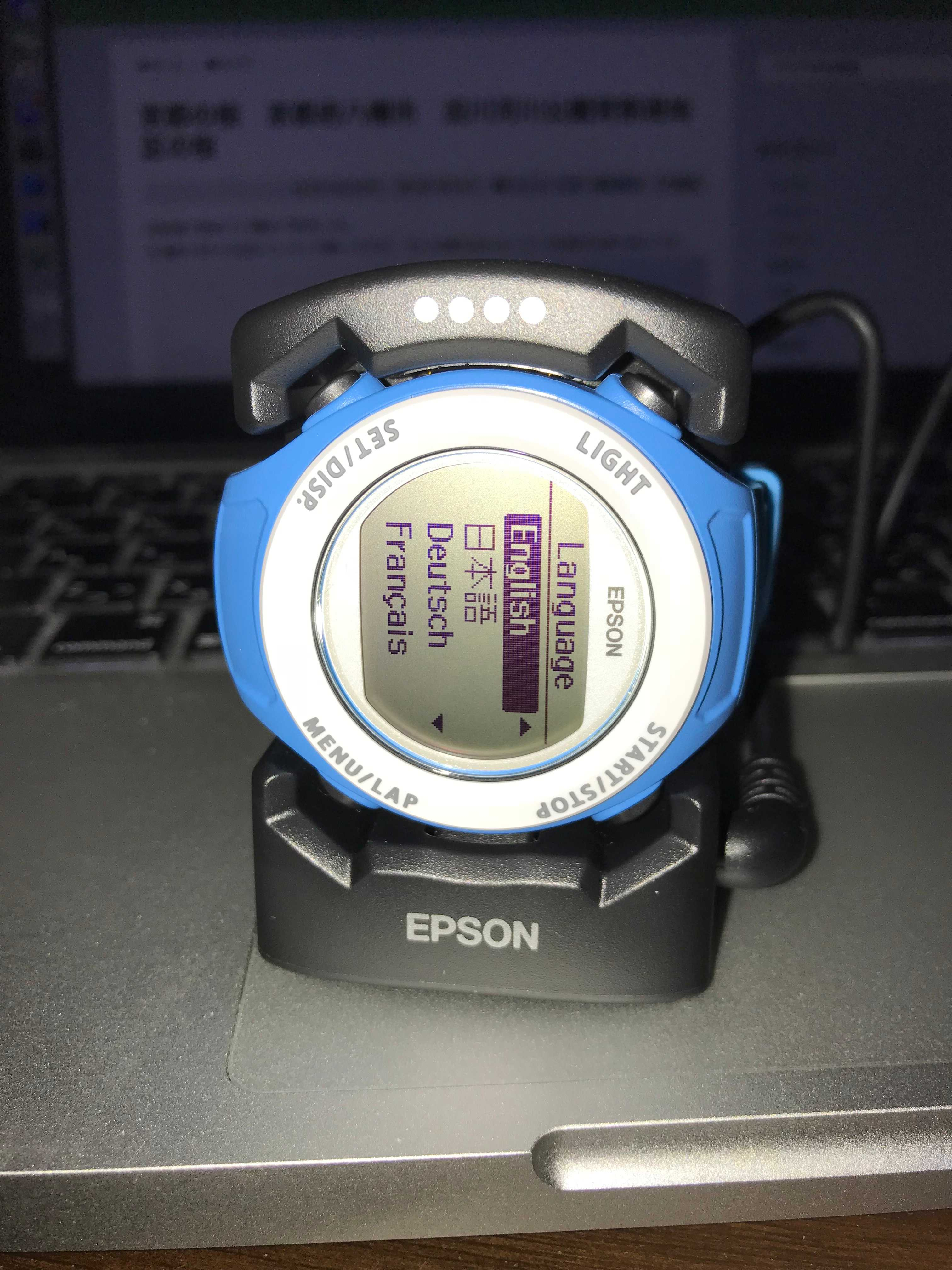 aaabea312f EPSON GPS腕時計 SF-110Cを買いました。