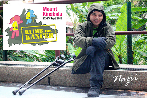 Mount Kinabalu Klimb for Kancer 2013