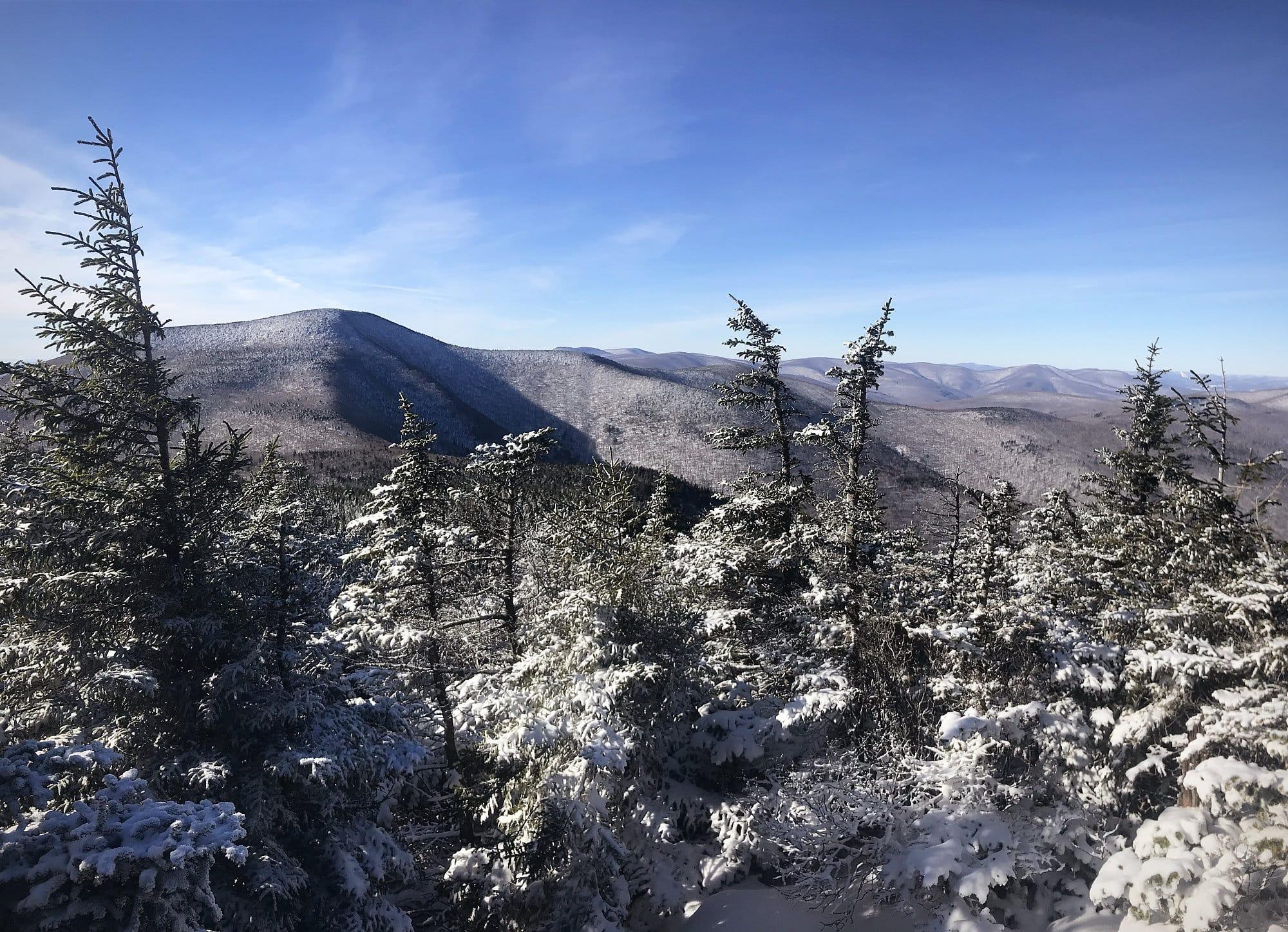 View of Slide Mtn