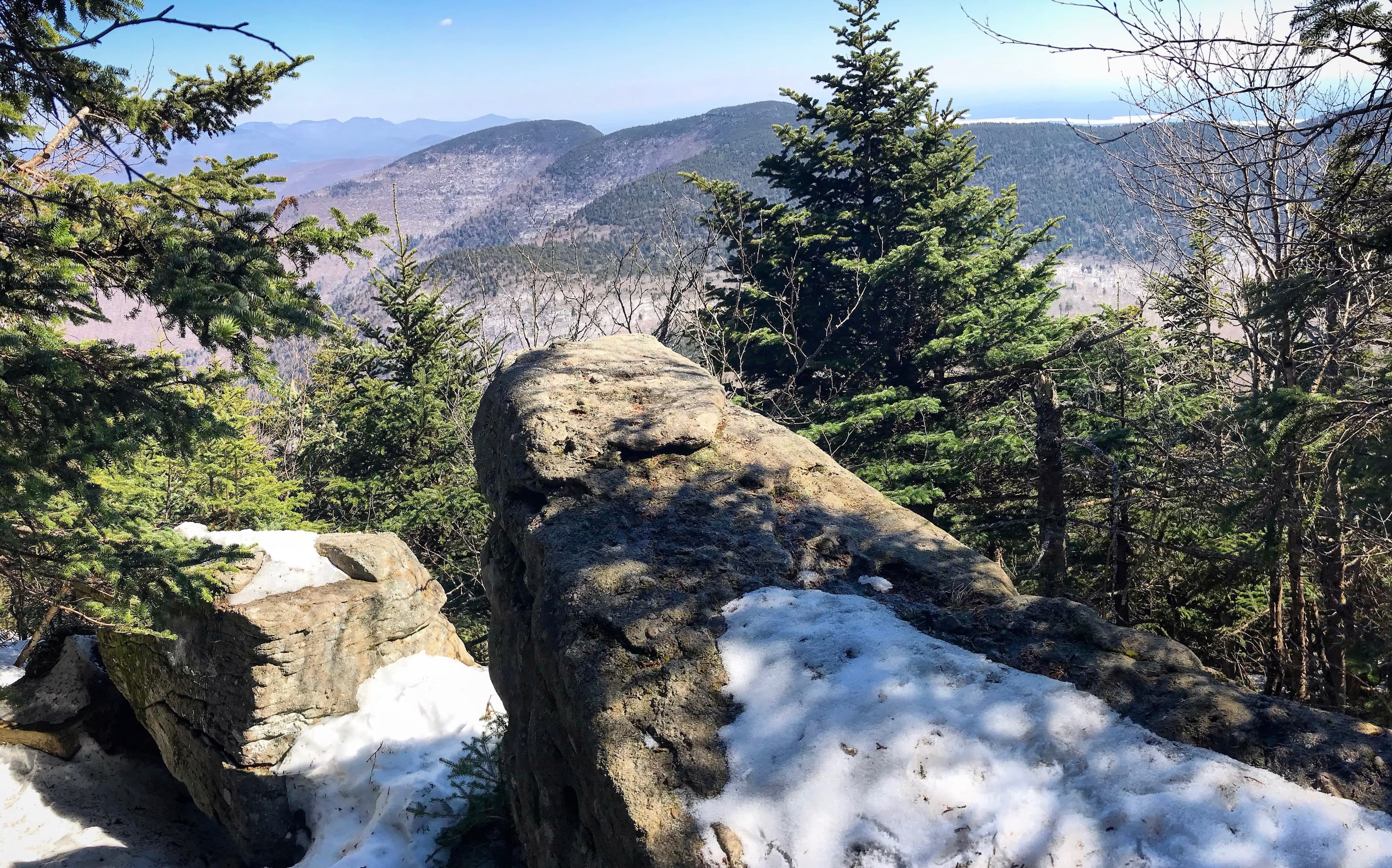 View from Slide Mountain