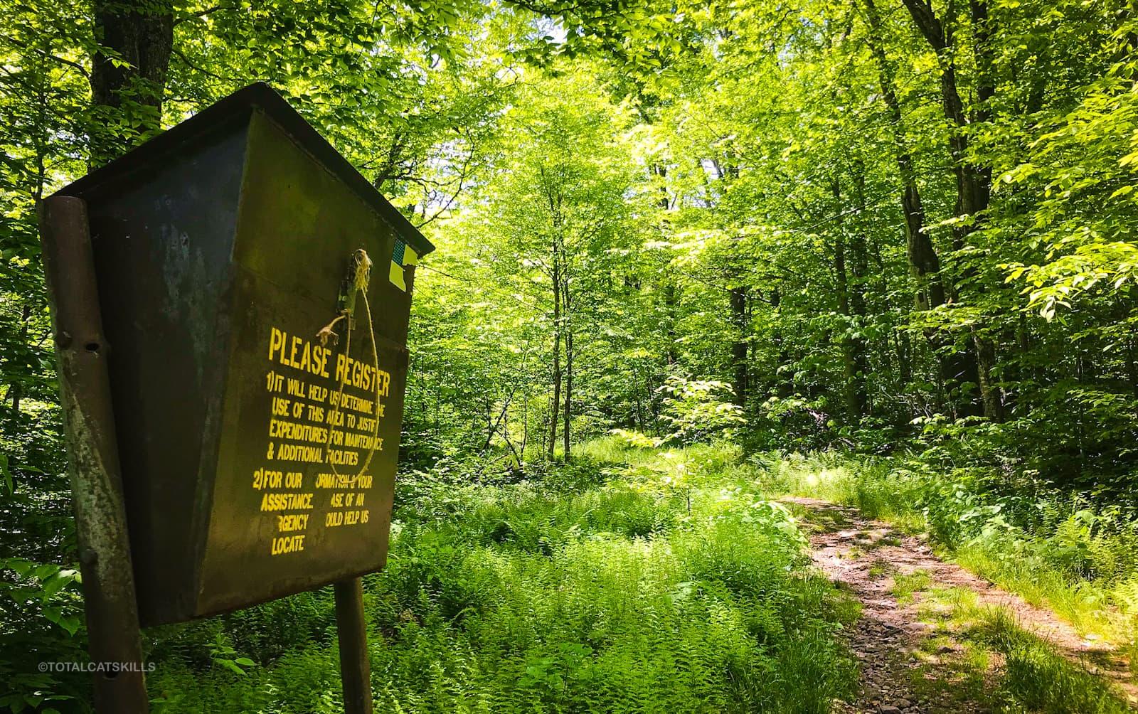 trail register box