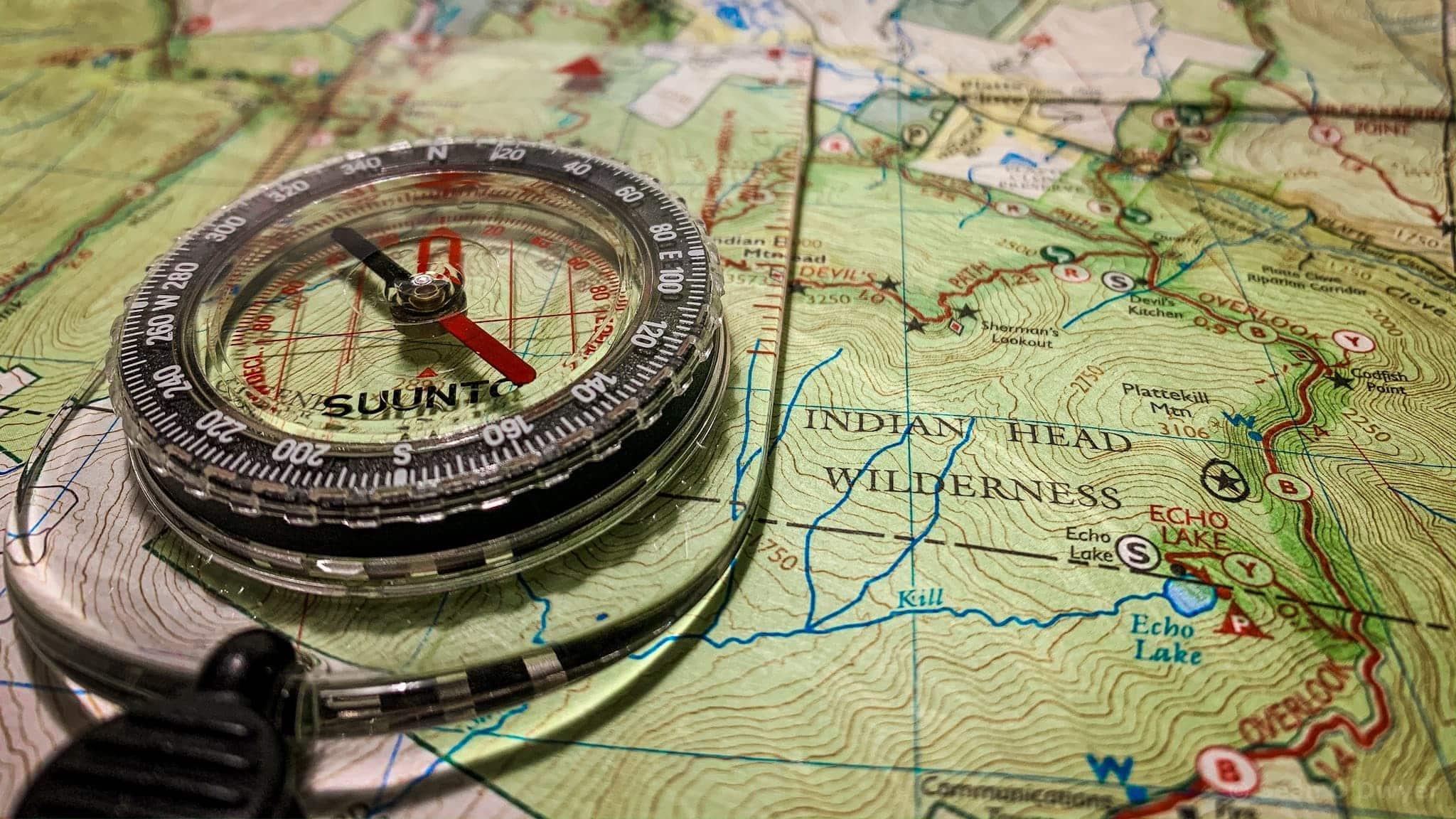 map / compass
