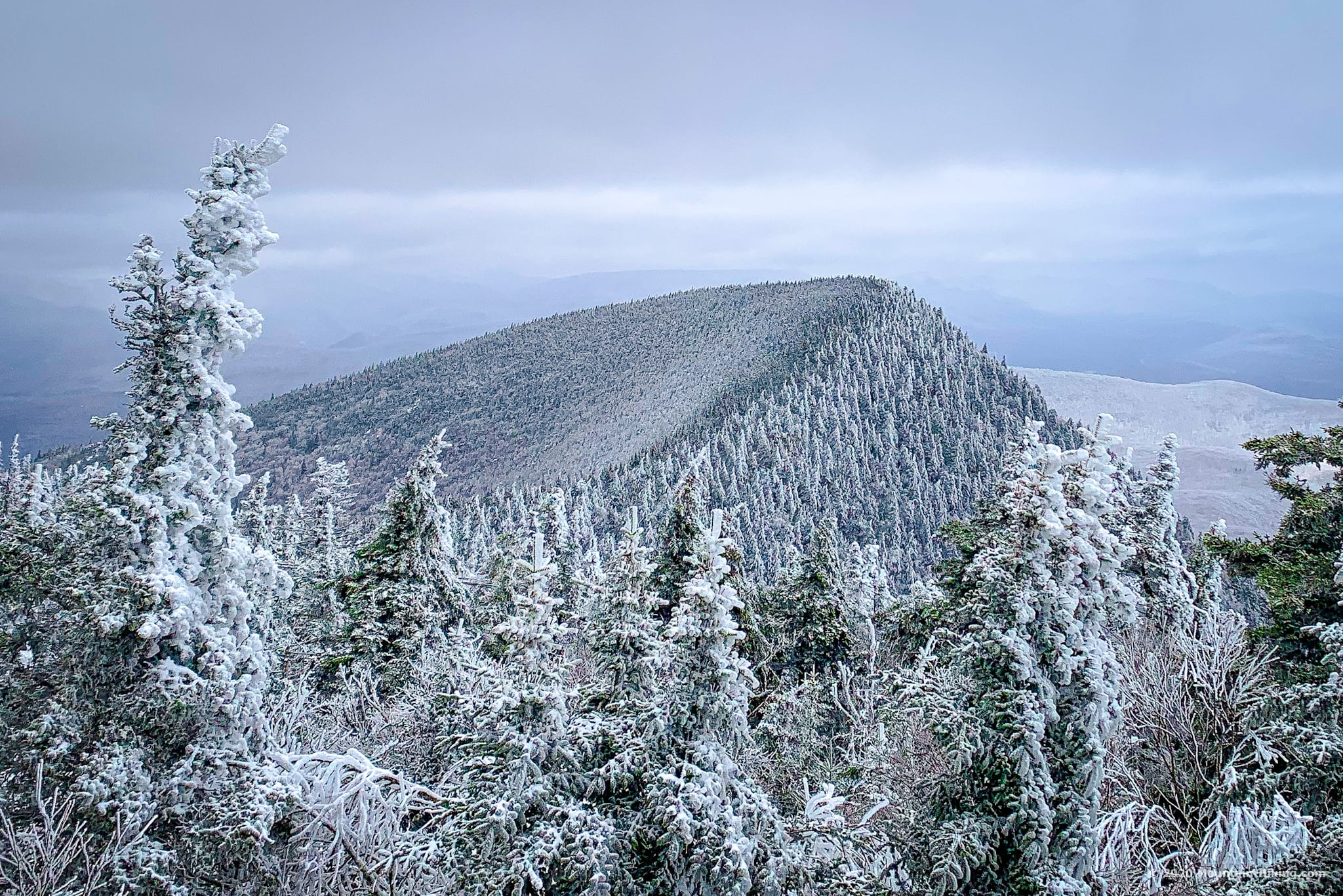 View of Wittenberg Mountain, Catskills, New York