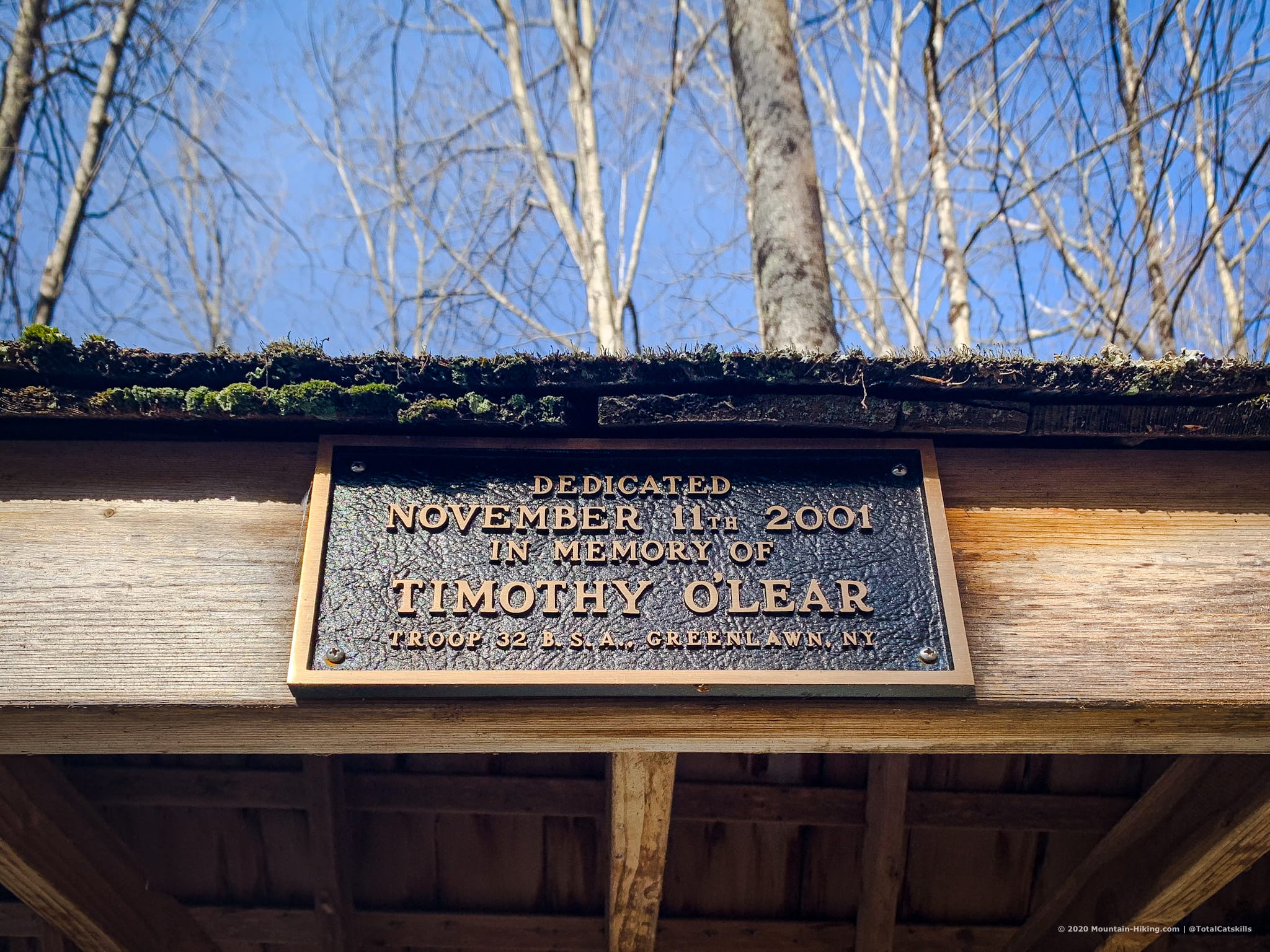 trailhead dedication