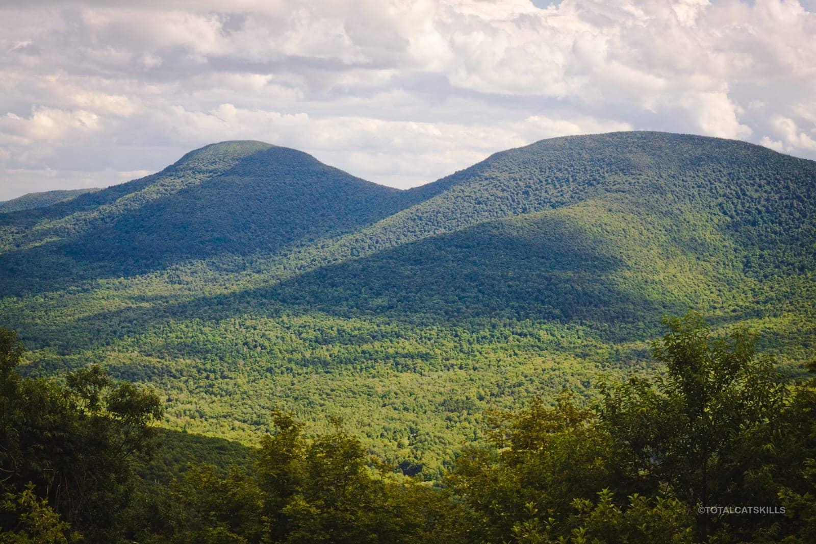 two mountain summits
