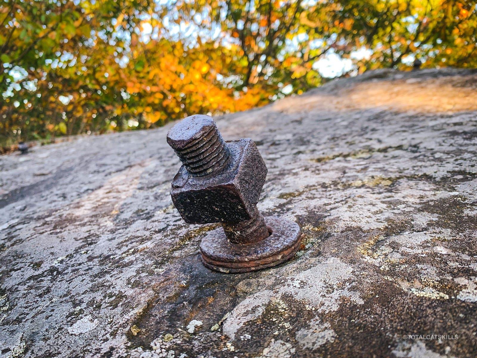 bolt in rock