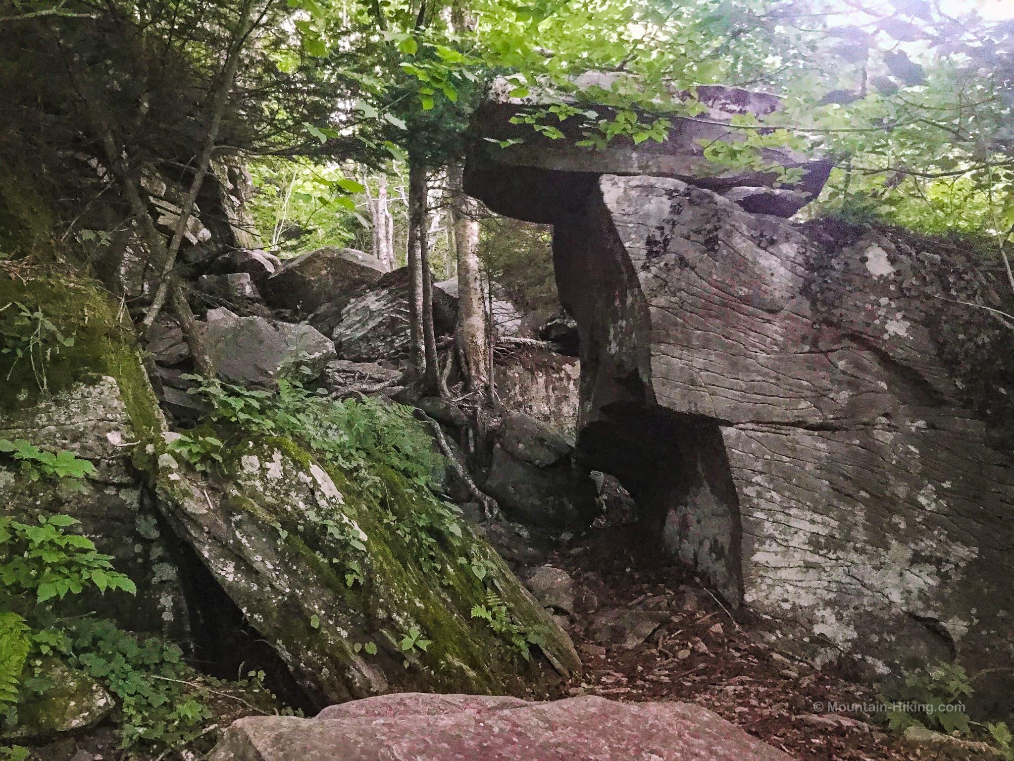 ancient boulder configuration