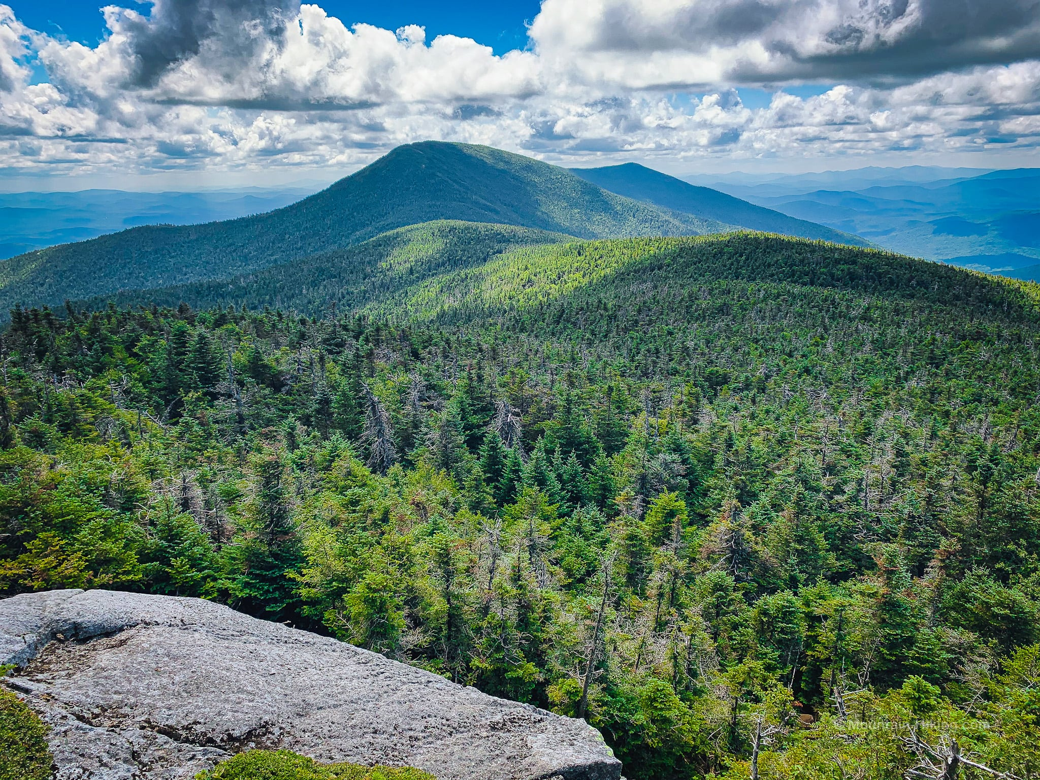 Santanoni Peak in the distance