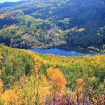 Cataract Lake in September
