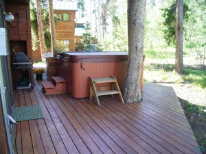 Hot tubs are good for rental properties