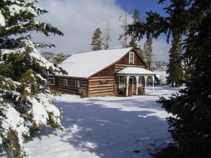 Snowy Frisco Cabin