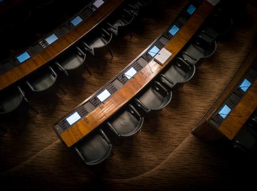 Vacant seats due to government shutdown